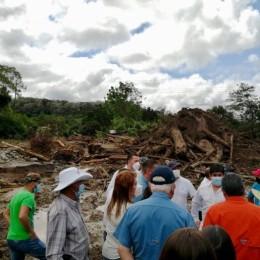 Gobierno emitirá decreto de emergencia para atender los daños provocados por ETA: Mandatario Carlos Alvarado visitó cantones de Coto Brus, Corredores y Golfito