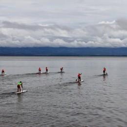 En Playa Naranjo de Paquera: Regreso exitoso de surf de remo bajo todos los protocolos sanitarios