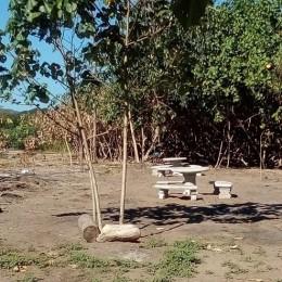 Concejo Municipal de Paquera coloca mesas y bancas en Pochote: Se habilita una pequeña área de camping